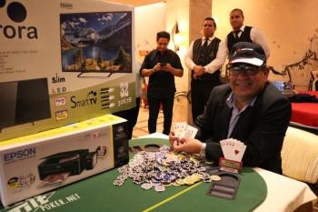 Foto Faustino Cabrera Santacruz (JW Enterprises S.A) Campeón Latintour Asunción – Granados Park Hotel – Noviembre 2016
